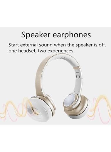 Sodo Sodo Mh10 Nfc Yapılı Hem Bluetooth Profesyonel Kulaklık Gümüş